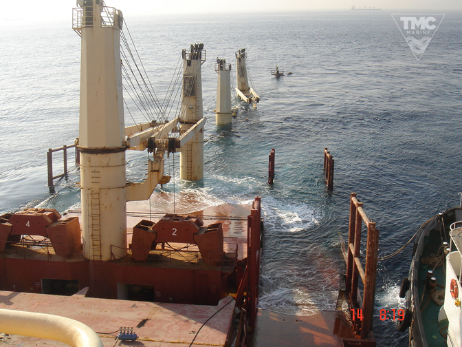 NEW FLAME – Gibraltar – August 2007-Wreck removal-8