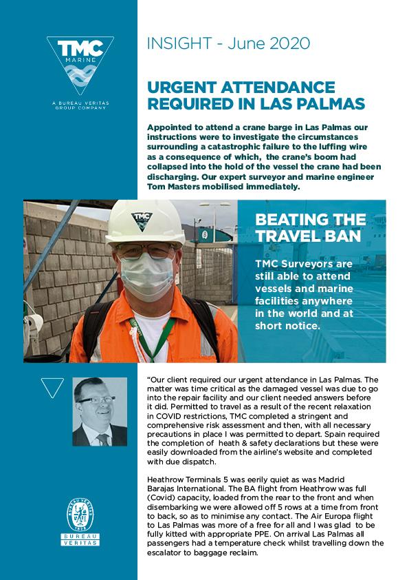 Urgent attendance Required in Las Palmas